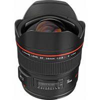 Canon Super Wide Angle EF 14mm f/2.8L II USM Autofocus Lens.