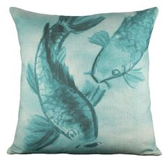I pinned this Swimming Koi Pillow from the Zodiac: Pisces event at Joss and Main!