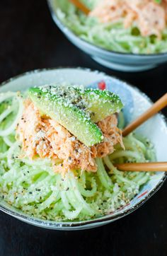 This Spicy Sriracha Crab and Cucumber Salad is refreshing and flavorful!This Japanese-inspired salad is my absolute favorite sushi restaurant appetizer. Make your own at home with the recipe for this quick and easy recipe!