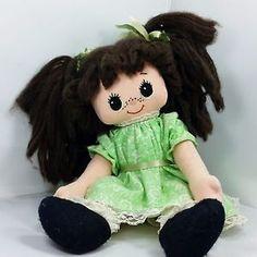 Beautiful vintage handmade rag doll