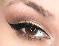 Brown/gold makeup tutorial using Too Faced chocolate bar palette