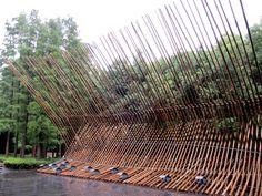 Bamboo Construct at MOCA Shanghai  Location: Shanghai, China Year: 2010 Organiser: Jointly organised by Hong Kong Museum of Art and Museum of Contemporary Art (MOCA), Shanghai