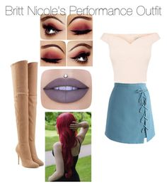 """""""Whatever"""" by arianagrande1962 on Polyvore featuring Chicwish, Balmain and Jeffree Star"""