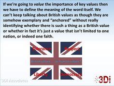Defining values