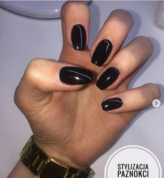 10 'Must-Try' Black and White Nails You Have to See! Black Almond Nails, Black Acrylic Nails, Best Acrylic Nails, White Nails, Pink Nails, Nail Photos, Clean Nails, Oval Nails, Nail Manicure