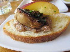Foie Gras with Cherry Walnut Mostrada at Toro (Boston, MA). #UniqueEats
