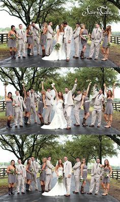 Our bridal party!! Southfork ranch, boots and so much fun!!!!! Love these pictures. #fairytalephotography