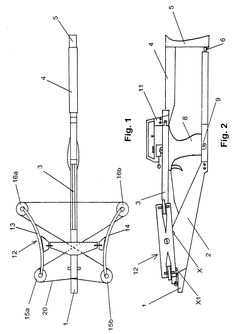 Патент US20050279338 - Tiller. bow and trigger mechanism for a crossbow, and a crossbow