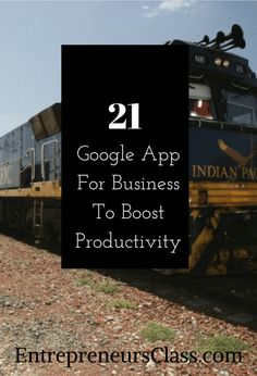 21 Google app for business -Looking for the best app for business? Check out the list of 21 free Google business apps to boost your productivity.