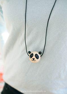 Collana con perle in legno dipinto - Hobbies & Crafts Tips - Make & Create