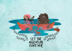 Let the adventure continue - Card by Annie Wilkinson