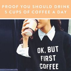 Dear Science, Please let this be true. Sincerely, Coffee Addicts Everywhere @PureWow