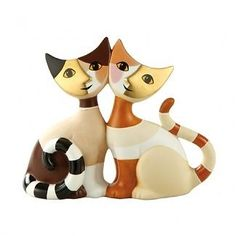 Rosina Wachtmeister Gisella & Ermes Cats Figure  NEW   19608