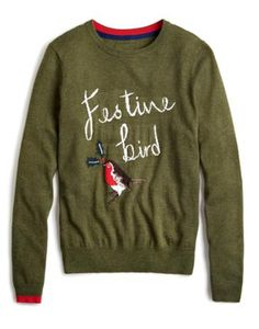79c6aec499d Pin for Later  Deck Yourself With Boughs of Holly For Christmas Jumper  Season Joules Festive Women s Christmas Intarsia Jumper Joules Festive  Women s ...