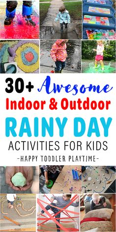 Outdoor Activities For Toddlers, Rainy Day Activities For Kids, Rainy Day Fun, Kids Learning Activities, Spring Activities, Indoor Activities, Coding For Kids, Kids Zone, Backyard Ideas