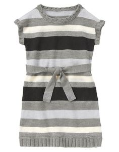 Sparkle Stripe Sweater Dress at Crazy 8