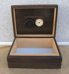 Credo Cigar Humidor Humidifier, Cedar Lined