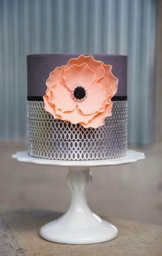 Simply Modern Cake Design by Jessica Harris: A Craftsy Class Review • CakeJournal.com