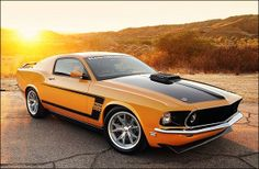 Intriguing retrobuilt 1969 Ford Mustang Mach 1 Fastback