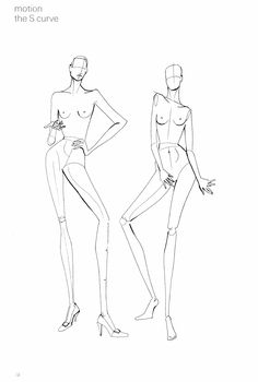 Fashion Design Drawing Nancy Riegelman, 9 Heads - A Guide to Drawing Fashion Fashion Design Drawings, Fashion Sketches, Fashion Figure Drawing, Drawing Fashion, Fashion Illustration Template, Fashion Figure Templates, Model Sketch, Fashion Portfolio Layout, Figure Sketching