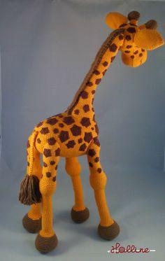 Návod: Háčkovaná žirafa