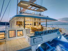Night Sail Catamaran