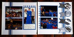 Add Creative Memories Cardstock to the Achievements Collection to add your school colors for graduation.