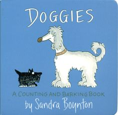 Count--and bark--with a fun pack of pups in this Sandra Boynton classic. Serious silliness for all ages. Artist Sandra Boynton is back and better than ever with completely redrawn versions of her multi-million selling board books. These whimsical . Sandra Boynton, Thé Illustration, Illustrations, Music Games, Toddler Books, Childrens Books, Sandro, Board Books For Babies, Baby Books