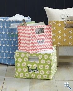 Storage bins from garnethill.com