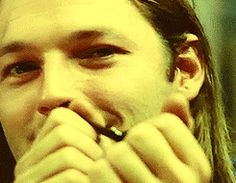 David Gilmour-Pink Floyd | cheeky smile
