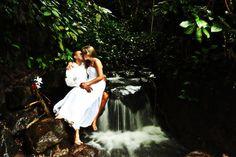 Costa Rica wedding. Arenal.