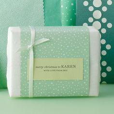 Martha Stewart handmade soap packaging inspiration