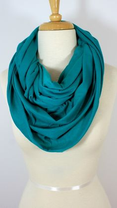 Simplicity Scarf in Teal