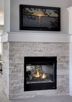 Owners Bedroom Fireplace