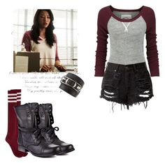 Kira Yukimura 5x15 - tw / teen wolf by shadyannon on Polyvore featuring Superdry, Steve Madden and Balenciaga