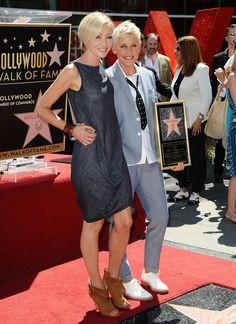 Cute Portia de Rossi and Ellen DeGeneres Pictures | POPSUGAR Celebrity