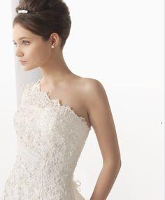 Wedding Bride, Wedding Dresses, One Shoulder Wedding Dress, Fashion Dresses, Style, Rosa Clara, Bride Dresses, Fashion Show Dresses, Swag