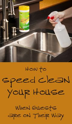When you have guests arriving at your home in just a few minutes, deep cleaning is not an option. You must pick up your house and clean it as quickly and efficiently as possible. Here are a few tips and tricks for picking up and speed ...