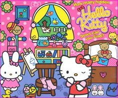 How many hidden Hello Kitty bows can you find?