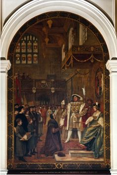 23. The Foundation of St. Paul's School, 1509 Great Fire Of London, The Great Fire, Tower Of London, London City, Frederick Leighton, Thanksgiving Service, Edward Iv, Alfred The Great, Magna Carta