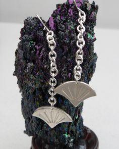 A personal favourite from my Etsy shop https://www.etsy.com/uk/listing/451613480/fine-silver-fan-drop-earrings-on