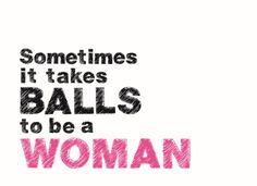 Wil je jouw vriendin verrassen met een kaart & net dat beetje extra motivatie geven? Verras met deze hippe kaart van Hallmark uit de motivatiecollectie. #Hallmark #HallmarkNL #Wenskaart #balls #woman #proud #Kaarten #motivatie
