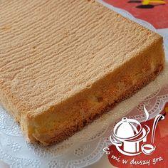 CO MI W DUSZY GRA: BISZKOPT POD RÓŻNE MASY, GALARETKĘ, OWOCE itp. Polish Recipes, Sponge Cake, Homemade Cakes, Cornbread, Cake Recipes, Sweet Tooth, Cheesecake, Gra, Cooking Recipes