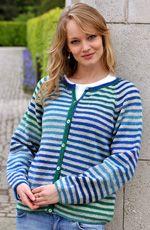 haandarbejde strikkeopskrifter strikkeopskrifter til hende raglansweater og loest halsroer