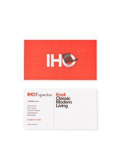 Iho3 #business card #knoll