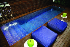 piscina azul escuro - Google Search