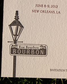 New Orleans Save the Date