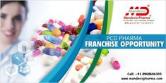 A PCD pharma can be described as a franchise that is extended by a Pharma organization to another party for trading in the company's products at a specified location and as per the agreement terms. If you are looking for PCD Pharma Franchise in India, contact Mandevis PCD Pharma Company. We're providing business opportunities to everyone. Anyone interested can call on: 8968606303