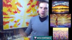 New full prosess oil painting lesson! How to paint GOLD AUTUMN! Valery R...