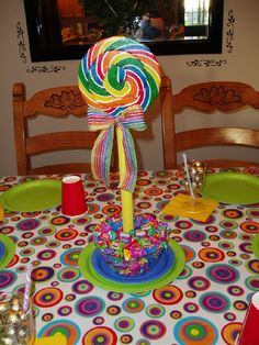 33 best candy table centerpieces images in 2019 rh pinterest com  candy decoration for birthday party